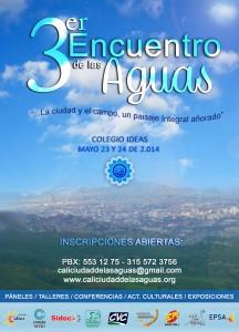 Afiche Encuentro Aguas