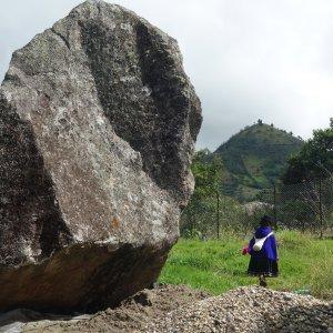 El Padre - roca sagrada.