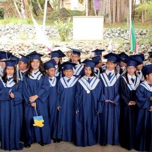 Los niños del colegio.