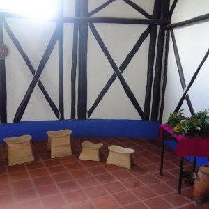 El salón de hierbas.