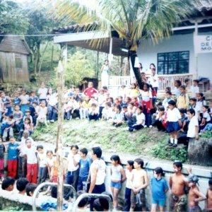 Inauguración Colegio de las Aguas Montebello.
